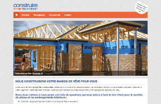 A French house constructing website