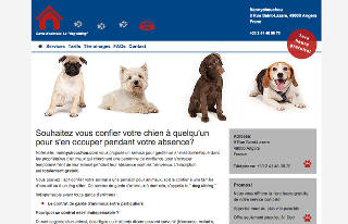 French Animal care website