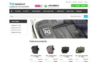 Toplaptoptas E-Commerce website